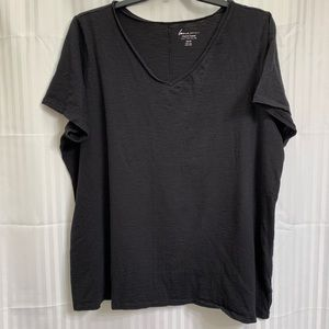 Lane Bryant Cool & Casual V-Neck Tee